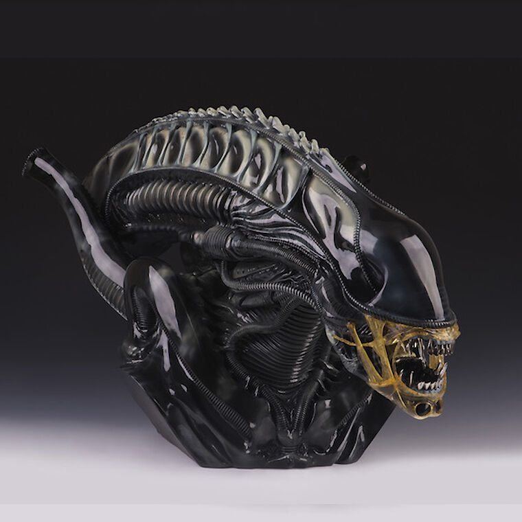 High Quality AVP Aliens Aliens Aliens vs Predator 1 1 Alien Soldier Bust Resin Statue Recast 4775e4