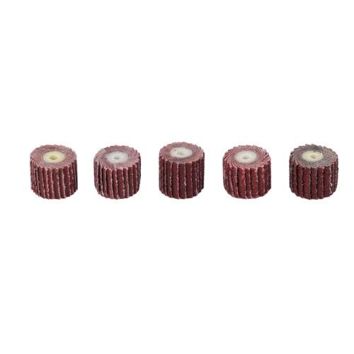 50PCS 80~600 Grit Flap Wheel Disc Sanding Drill Abrasive Sandpaper Polishing US