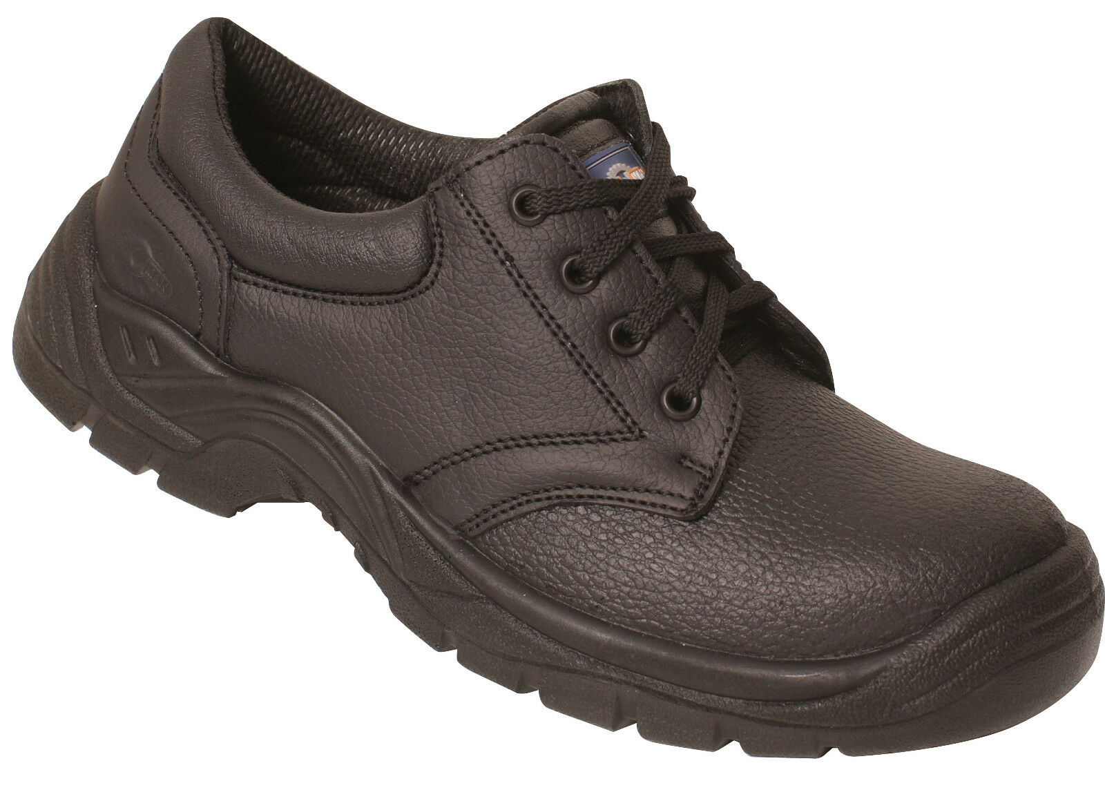 Pro Man PM102 S3 Black Leather Steel Toe Cap Chukka PPE Safety Shoes Work Shoes PPE Chukka e4c6e1