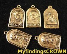Free Ship 248 pieces tibetan silver cross charms 24x16mm L-4535