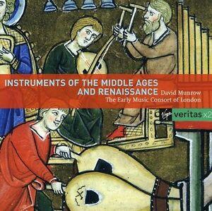 David-Munrow-Instruments-Du-Moyen-Age-Et-de-la-Renaissance-New-CD-Portugal