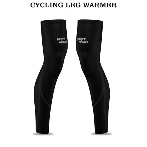 Cycling Winter Leg Warmers Bicycle Compression Running Thermal Roubaix Knee Pair