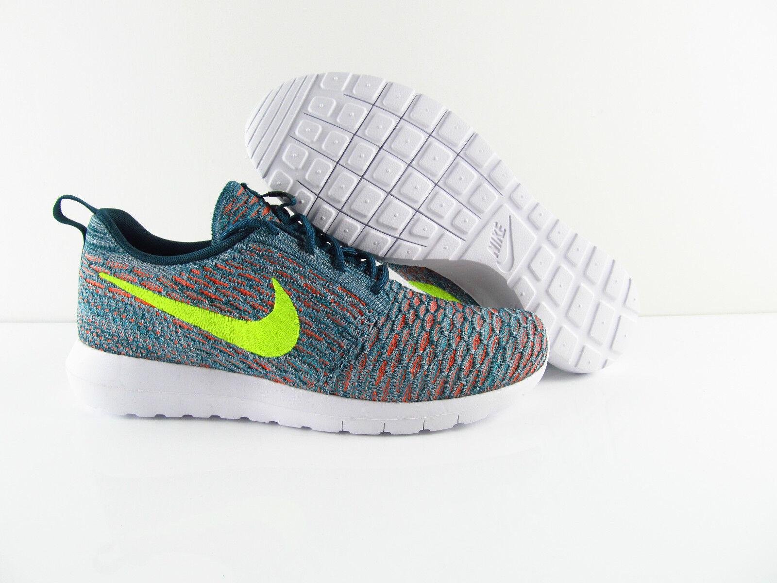 Nike Multicolor Flyknit Rosherun Roshe NM Running Multicolor Nike UK_7 US_8 Eur 41 160d25