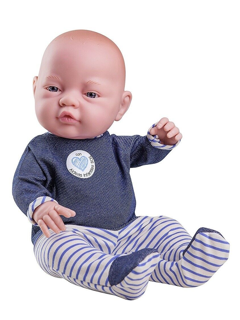 Baby Puppe Spielpuppe Puppenjunge Bebito Aldeas ca 45 cm Paola Reina 5150