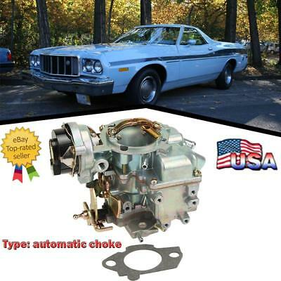 1BBL YFA Carburetor For 65-85 FORD ENGINES 4.9 L 300 cu//4.1 L 250 cu//3.3 L 200 c