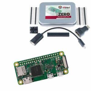 Raspberry Pi Zero W Wireless Essentials Kit Built in WiFi Bluetooth 512mb RAM