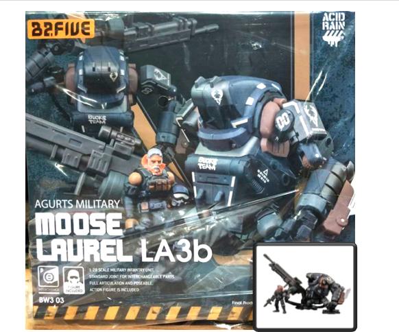 (InHe) Acid Rain B2Five Agurts Military  Moose Laurel LA3b Infantry 1 28 Unit  qualità autentica