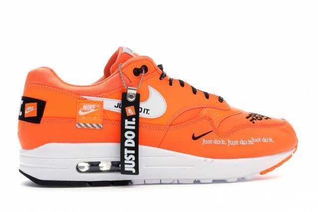 Nike Air Max 1 SE Lux Just Do It Orange Orange It A01021 800 men size 8-13 9768fe