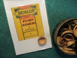 ALL ORIGINAL ALL SIZES PUMP WASHERS    SHELLEY SUTTY BLUEMELS DUNLOP APEX