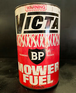 BP-VICTA-Lawnmower-Fuel-Vintage-Oil-Can-Tin