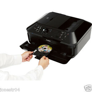 Canon Wi-Fi AIO Photo Printer Scanner Fax Copier-CD DVD ...