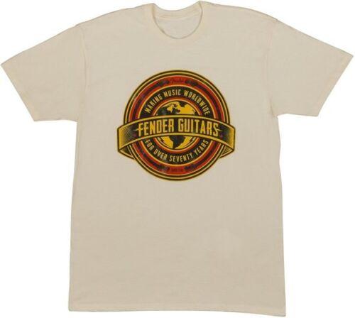 Fender Worldwide Logo T-Shirt Tan L