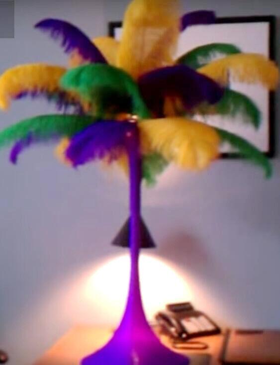 Madi Gras Ostrich Feather Centerpieces Wedding Table Centerpieces 1 SET