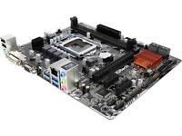 ASRock B150M-HDS LGA 1151 Intel B150 HDMI SATA 6Gb/s USB 3.0 Micro ATX Intel Motherboard