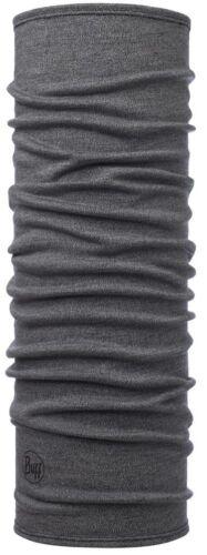 Buff Midweight Merino Wool Schlauchtuch light grey melange