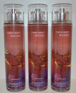 Lot Of 3 Bath Amp Body Works Twilight Woods Fine Fragrance