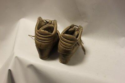Damas Marrón George les encanta sus botas dentro del talón entrenador efecto Casual UK 6