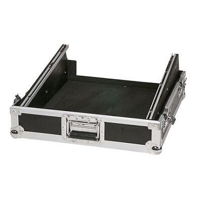 "12U 19"" Sloped Rack Mount Mixer Flight Case PA Band DJ Disco Console Controller"