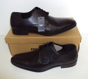 New German Army Black Leather Casual Formal Office Wedding Oxford Cadet Shoes