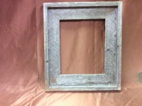 Hand Crafted One at a Time. Standard 18x22 Barn Wood Picture Frame