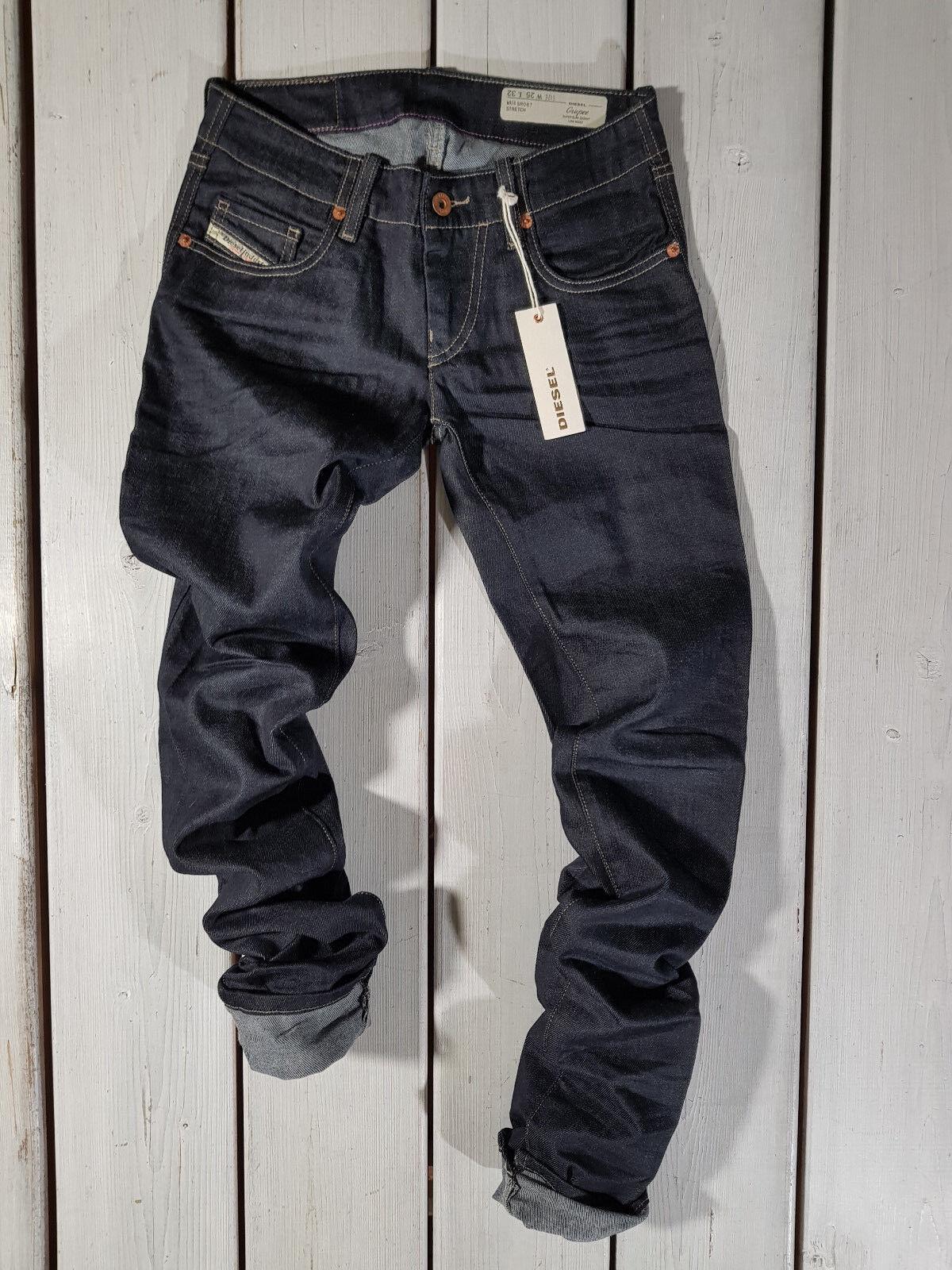 Nuovo Diesel DONNA Jeans Grupee Grupee Grupee W25 L32 Sr067 Super Slim Aderente Vita Bassa e2be37