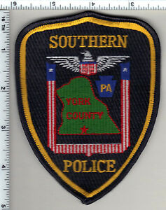 Southern Police (Pennsylvania) Shoulder Patch from 1992