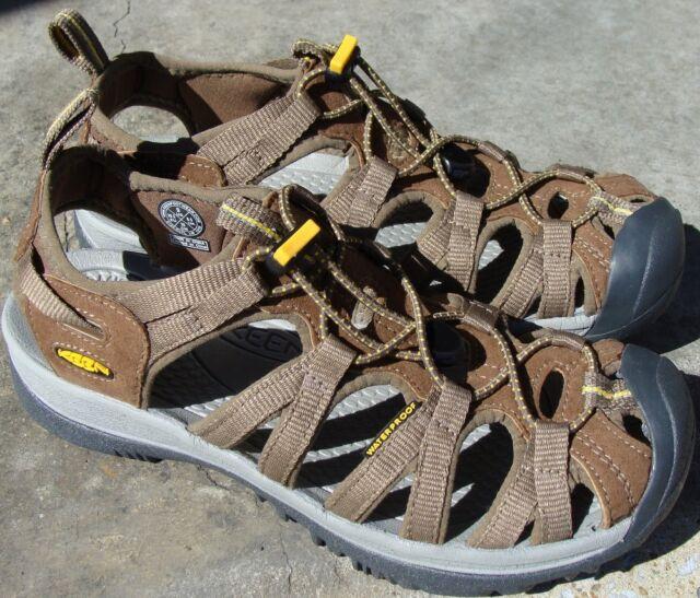 dfd699a2aeb3 KEEN 1003713 CLYL Whisper Coffee Liqueur   Yellow Women s Sandals 9 ...