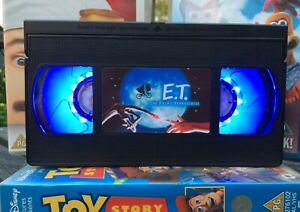 ET Movie Alien VHS Night Light, Horror Movie, Bed Light, Desk Light, Cartoon, TV