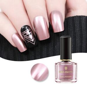 Image Is Loading 6ml BORN PRETTY Metallic Nail Polish Rose Gold