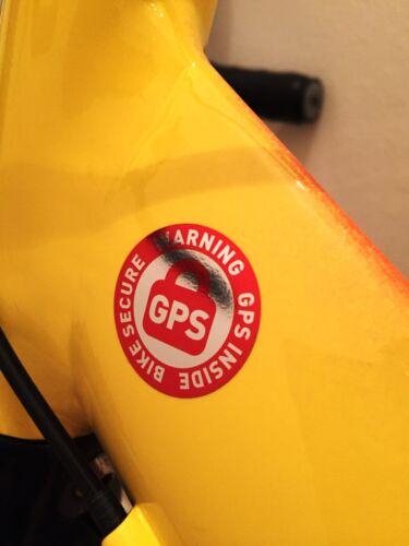 8 rueda GPS pegatinas bicicleta fusible bike Secure bicicleta MTB bikefinder Tracker