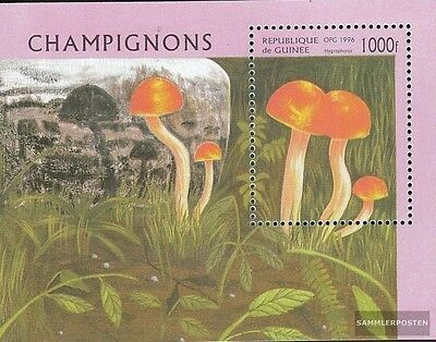 Obliging Guinea Block505 complete.issue. Unmounted Mint Never Hinged 1996 Mushrooms Do You Want To Buy Some Chinese Native Produce?