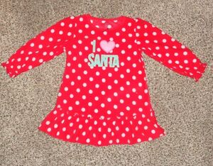 dbbbd638b2 Image is loading Just-One-You-Toddler-Girls-Christmas-Nightgown-Red-