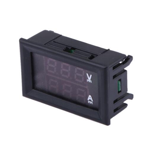 rot LED Amp Dual Digital Volt Span DC 100V 10A Voltmeter Amperemeter blau