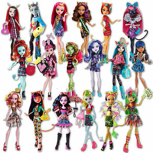 32.5cm/13inch Monster High Doll Field Trip Freaky Fusion Stand ...