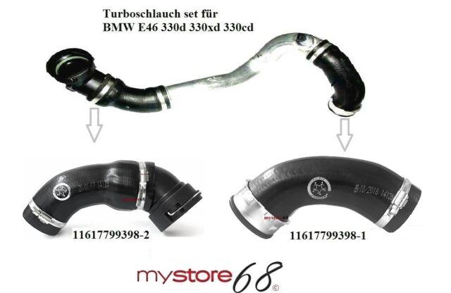 11617799398 330 d//xd//Cd YOU.S Turboschlauch Ladeluftschlauch für BMW 3er E46