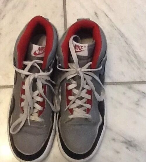 separation shoes d1fff 5d4a2 Men s Nike North Gray And And And Black High Top Shoes Size 9.5 Basketball  Sneakers 7fcc9f