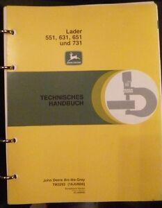John-Deere-Frontlader-551-631-651-731-Werkstatthandbuch
