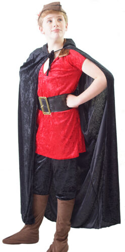 BEAUTY AND THE BEAST Gaston COMPLETE Costume with Cape /& Hat Kids World Book Day