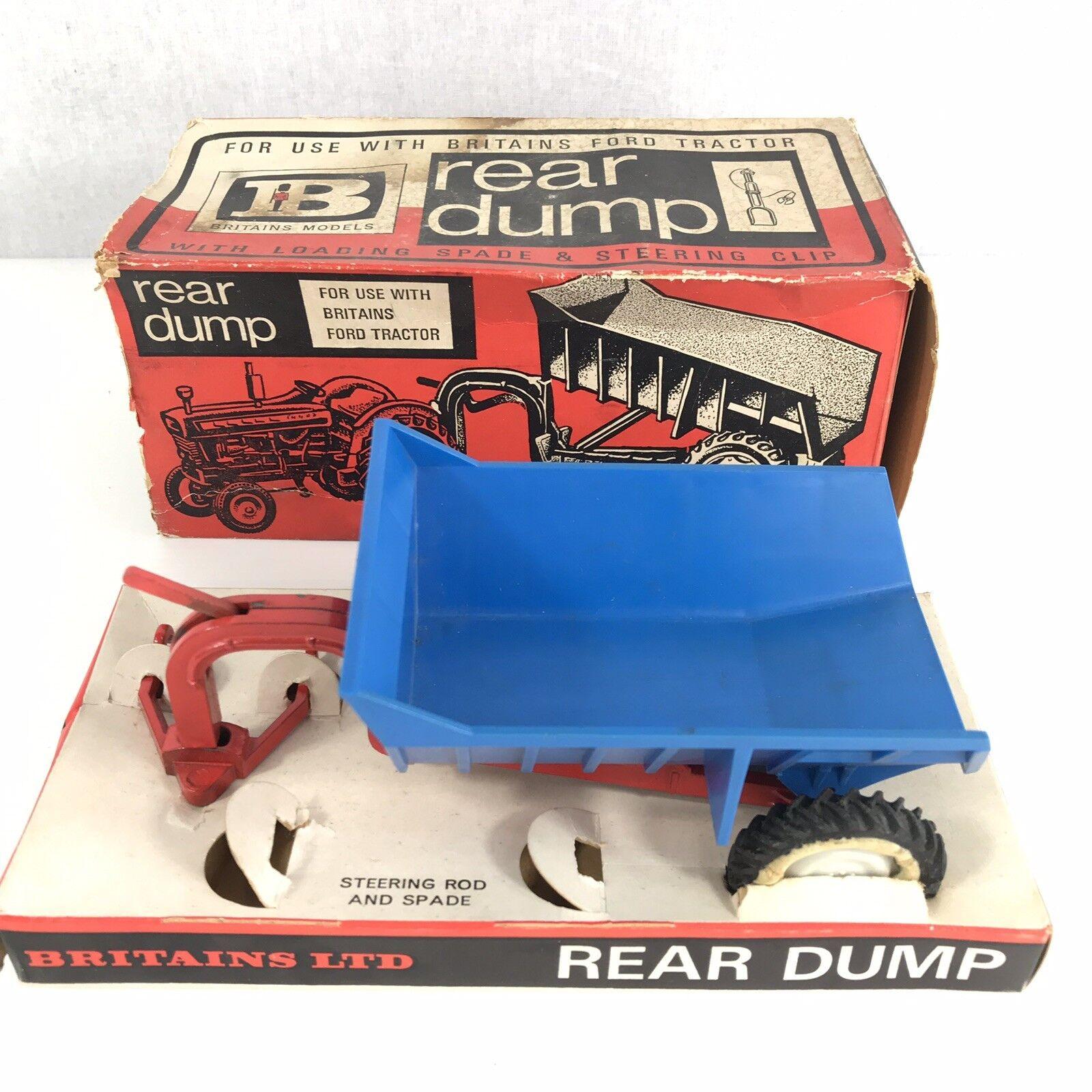 Britain's 9629 Rear Dump 1 32 Scale Boxed Box A F