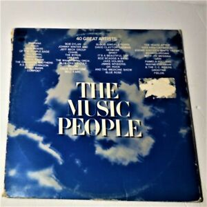 The-Music-People-Columbia-1972-Vinyl-3x-LP-Gatefold-Compilation-Rock-Pop