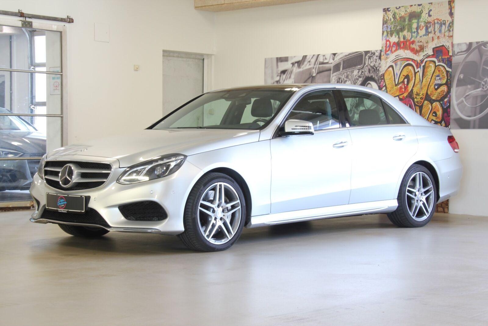 Mercedes E500 4,7 aut. 4Matic 4d - 3.999 kr.