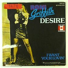 """7"""" Single - Roni Griffith - Desire - S1959 - washed & cleaned"""