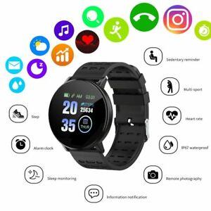 Montre Intelligente Bande Cardiofréquencemètre Podomètre 119Plus Fitness Tracker