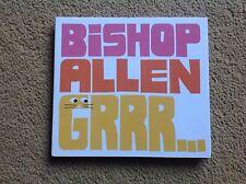Bishop Allen Grrr CD (2009) Fully Signed Album (see pics) Sent POST FREE in UK