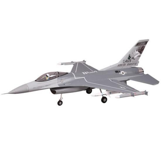 FMS F16 875MM JET FIGHTER 70MM EDF ARTF GREY W O TX RX BATT FMS102P