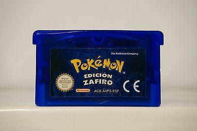 Pokemon Edición Zafiro Game Boy Advance Gba guarda partida en español 4321