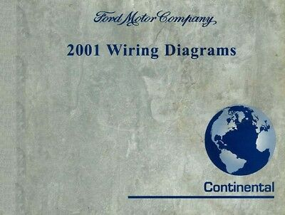 2001 Lincoln Continental Electrical Wiring Diagrams ...