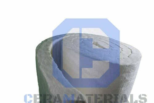 "Ceramic Fiber Blanket Insulation Wool High 2300F 8#  2/""x48/""x12.5/'"