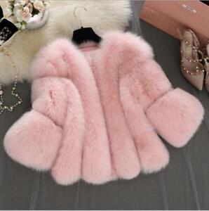 Slim Coat Fit 4 Outdoor 3 Fur Beskåret Sleeve Ske15 Faux Kvinder Parka 1wvqAZE1