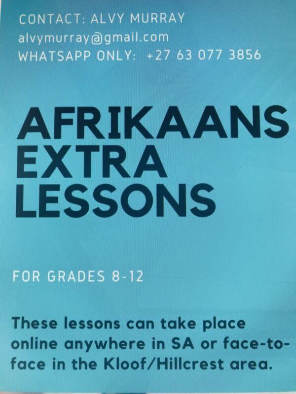 Afrikaans Tutor